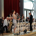 Patricia with Bill Baker's Big Band